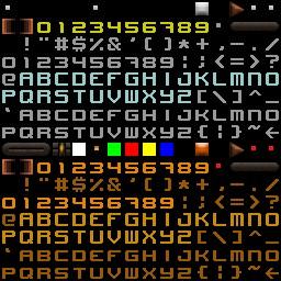 QuakeWorld nu - Console Font remake